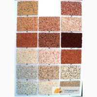 Мраморно-гранитная штукатурка Силкоат, производство Турция