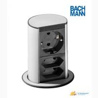Выдвижной блок розеток Bachmann Elevator 220 (Schuko) + 2x220 (Euro)
