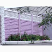 Паркан, огорожа, еврозабор, бетонный забор, Кривой Рог