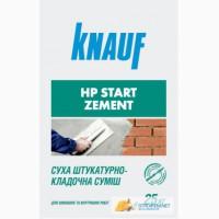 НР СТАРТ ЦЕМЕНТ ЦВ (25кг) Штукатурка цементная KNAUF
