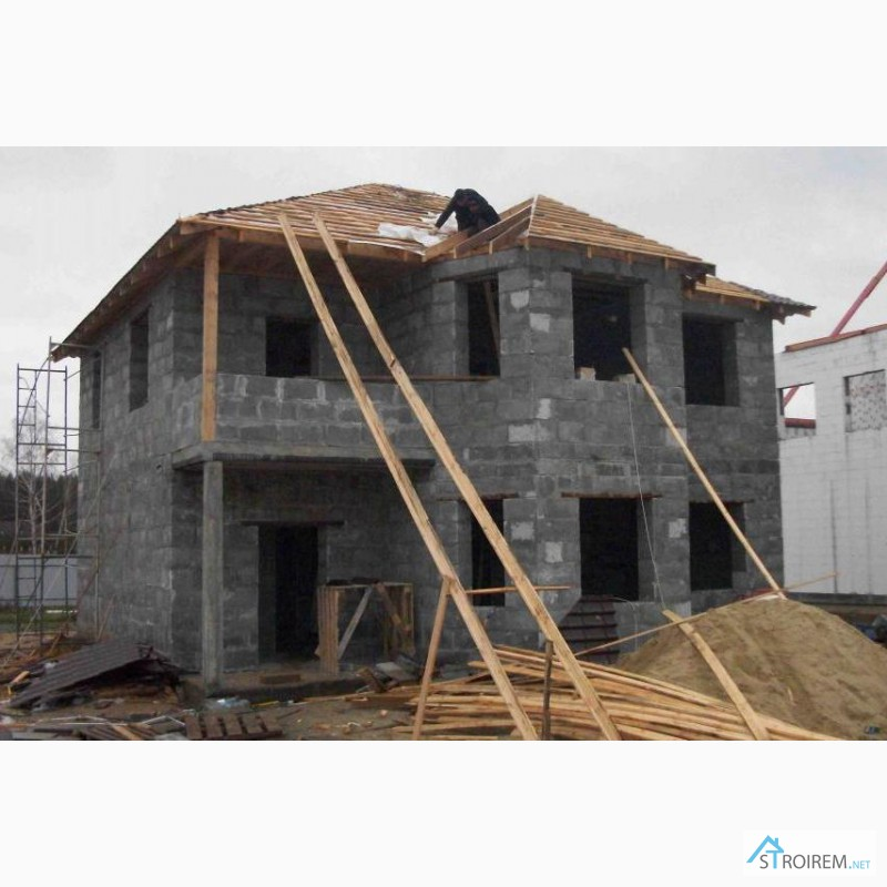 Фото постройки дома