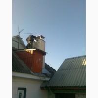 Гильзовка дымоходов из нержавейки в Черкассах