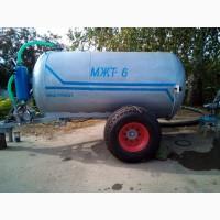 Бочка для жидкого навоза, удобрений, воды МЖТ6