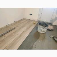 Укладка плитки на пол, стены