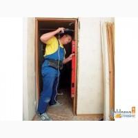 Ремонт металлических и деревяных дверей донецк