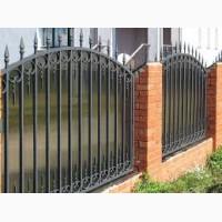 Кованый забор, забор с профлиста, бетонный забор, в Кривом Роге