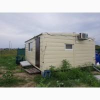 Дачный модульный дом с удобствами 6*4, 8м