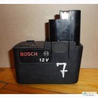 7 Аккумулятор Bosch 12V 1, 2Ah (2 607 335 108)