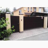 Ворота металлические откатные