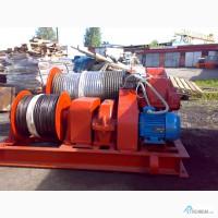 Лебедка тяговая электрическая ТЭЛ-8Б с тросом
