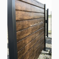 Забор сайдинг, Блок-хаус Колода имитация дерева, от изготовителя