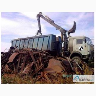Прием металлолома, вывоз металлолома, демонтаж металлоконструкций