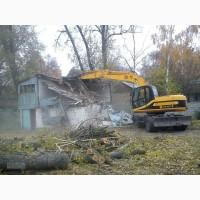 Демонтажные работы, снос строений, дачных домов, демонтаж гаражей, вывоз мусора