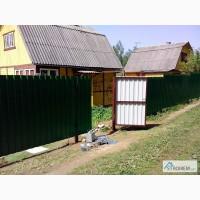 Забор из металопрофиля, некондиция, остатки, . Завод