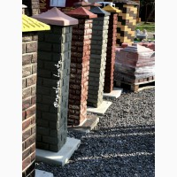 Блок стовпчиковий бетонний, тумба набірна на стовпи від виробника