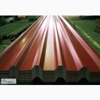 Металлический лист гнилая вишня, профнастил 0, 48 и металлочерепица 3005. Производим