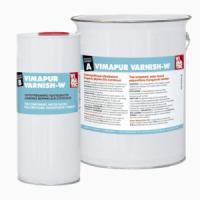 VIMAPUR VARNISH-W Прозрачный полиуретановый лак на вод. основе