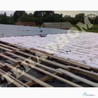 Утеплення дахів заливним пінопластом екоізол