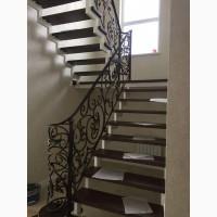 Металлические лестницы в доме и наружные. Кованые и сварные перила, ограждения