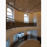 Лестничные перила и ограждения из анодированного алюминия, стекла и нержавейки. Ограждения