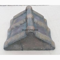 Форма крышки парапет черепица Карпатская 1