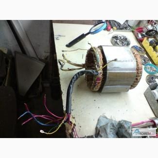 Перемотка статорных и роторных обмоток генератора