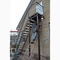 Лестница металлическая наружная. Броневик - Днепр