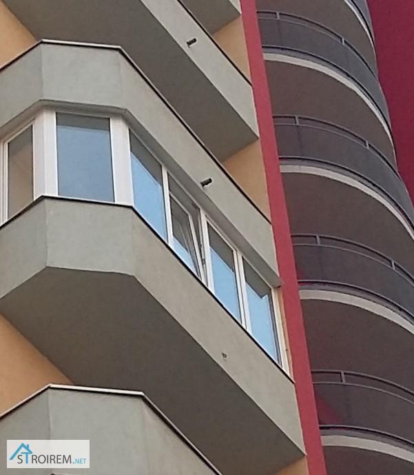 Фото к объявлению: остекление балконов качественно и по дост.
