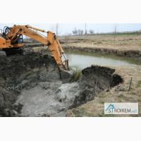 Строительство и расчистка водоёмов, гидросооружения