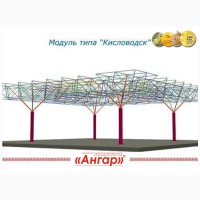 Модульное здание типовой проект Кисловодск
