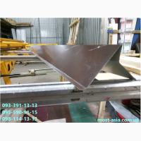 Ветровая планка(ТОРЦЕВАЯ) для металлочерепицы, Доборный элемент из металла на торец