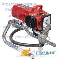 Аппарат безвоздушного распыления Airless 6389 поршневой покрасочный агрегат
