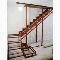 Каркас лестницы на второй этаж.Броневик Днепр