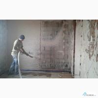 Штукатурка Стен. Нанесение Гипсовой и Цементной Штукатурки Машинным Способом