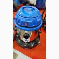 Пылесос промышленный для сухой и мокрой уборки одна турбина 1200 Вт Cleanvac Турция