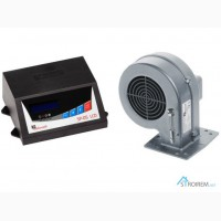 Автоматика котла SP 05 LCD + вентилятор DP02