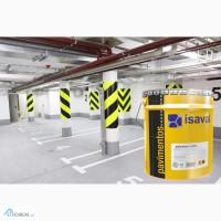 Краска двухкомпонентная ISAVAL Дуэполь Полиуретан 4л - для бетонных и цементных полов