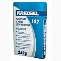 Крайзель 102 Multi (25кг) - Клей для плитки морозостойкий Кreisel