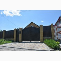 Ворота металлические, железные. фирмы Броневик