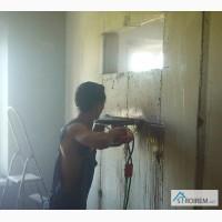 Резка проемов, стен, бетона без пыли Харьков
