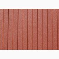 Профнастил кирпичного цвета, ПС-8 терракот, профлист рыжий RAL 8004 от ЗАВОДА