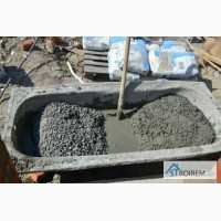 Приготовление бетона вручную в Киеве