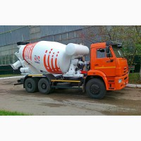 Продажа новых автобетоносмесителей TZA-58149Z на шасси КамАЗ-6520