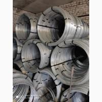 Проволока (катанка) оцинкованная для молние защита 6мм, 8мм, 9мм мотки по 50-120 кг