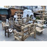 Садовая деревянная мебель из веток и лозы, мебель Driftwood