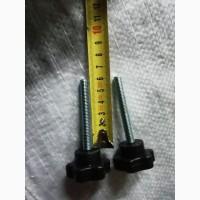 Ручка звезда с болтом М8*100 для твердотопливного котла