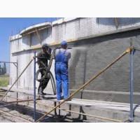 Покраска бетона- фасада, жби изделий, бордюров
