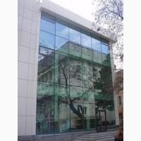 Остекление алюминиевых фасадов. Остекление витрин