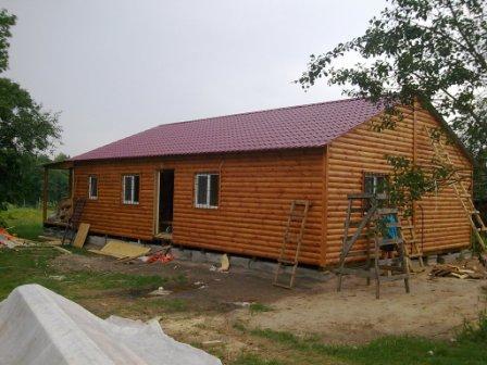 Фото 3. Дачный домик.Самый широкий ассортимент наружной отделки в Украине