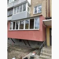 Пристрел балкона на первом этаже в Харькове БЕЗ ПОСРЕДНИКОВ